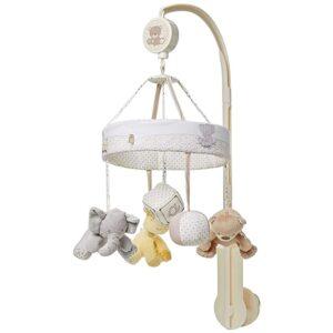آویز تخت پولیشی عروسکی فیل خرس زرافه Baby4Life