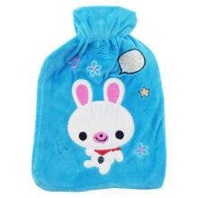 کیسه آب گرم تکه دوزی طرح خرگوش