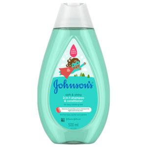 شامپو سر و بدن پوستهای حساس جانسون Johnson's