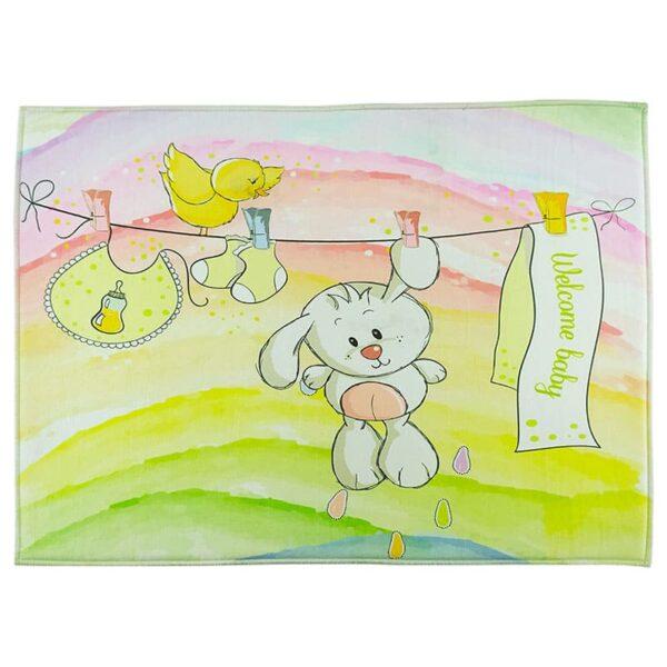 پادری اتاق کودک خرگوش رخت لباس