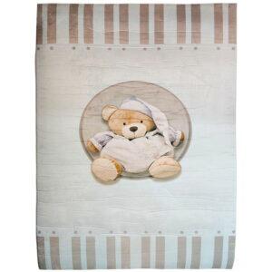 فرش اتاق کودک طرح خرس نانان تدی ماوی کارپت Mavi Carpet