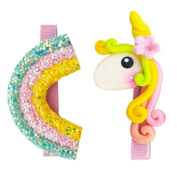 گیره سر دخترانه پونی اسب شاخدار Perance hairbows