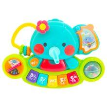 اسباب بازی بچگانه ارگ موزیکال مدل فیل Hola Toys
