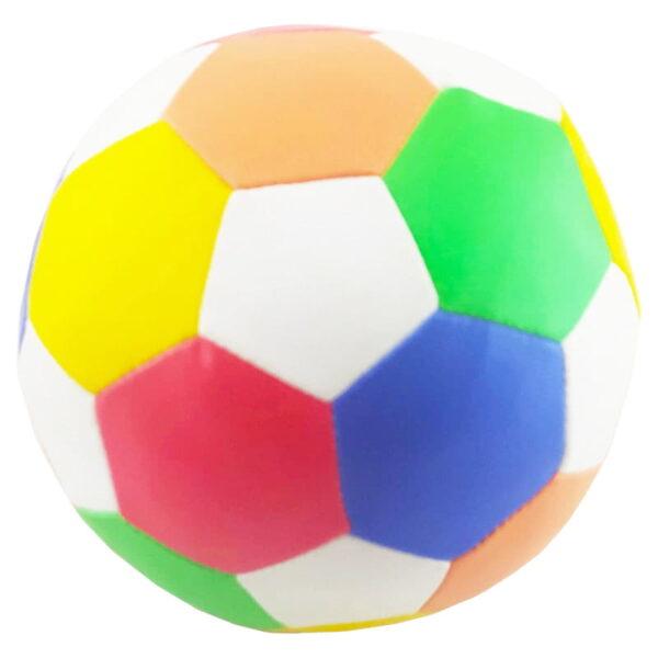 اسباب بازی بچگانه توپ فوتبال اسفنجی تکی سایز 5