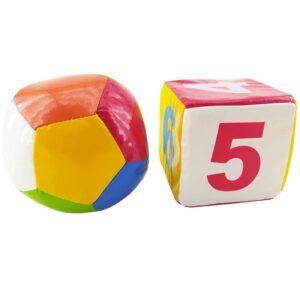 اسباب بازی توپ و تاس اعداد اسفنجی