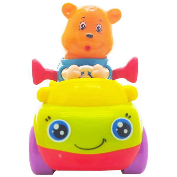 اسباب بازی ماشین قدرتی بچگانه طرح خرس Hola
