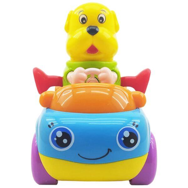 اسباب بازی ماشین قدرتی بچگانه طرح سگ هولا Hola