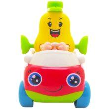 اسباب بازی ماشین قدرتی بچگانه طرح گلابی هولا Hola