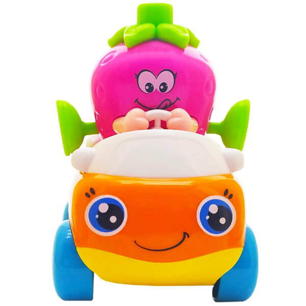 اسباب بازی ماشین قدرتی بچگانه طرح توت فرنگی هولا Hola