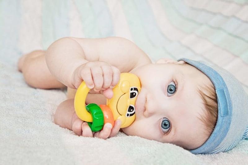 دندان گیر دستگیره دار مدل تمساح baby toys