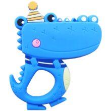 دندان گیر دستگیره دار مدل تمساح کلاه دار baby toys