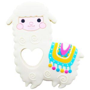 دندان گیر دستگیره دار مدل گوسفند baby toys