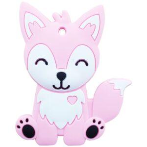 دندان گیر دستگیره دار طرح روباه baby toys
