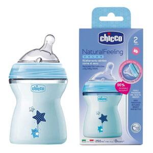شیشه شیر نچرال 250 میل step up چیکو Chicco