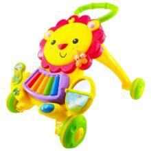 واکر کودک موزیکال طرح شیر  Baby first