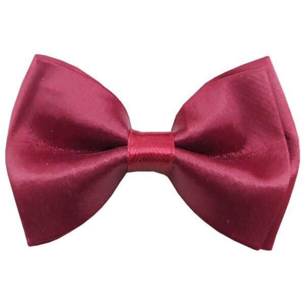 کراوات پاپیونی قابل تنظیم بچگانه Fakher زرشکی