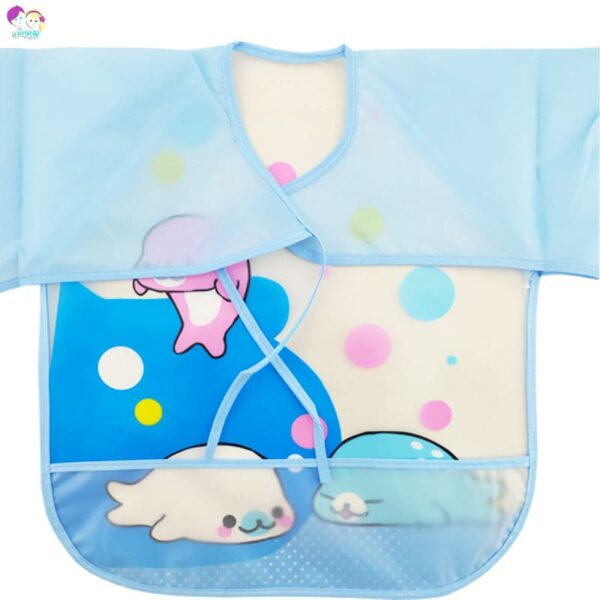 پیش بند لباسی طرح دلفین Best Baby
