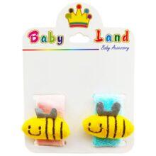 مچ بند جغجغه ای کودک زنبور Baby Land