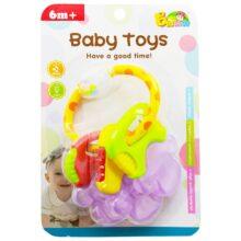 دندان گیر جغجغه ای طرح کلید  Baby Toys