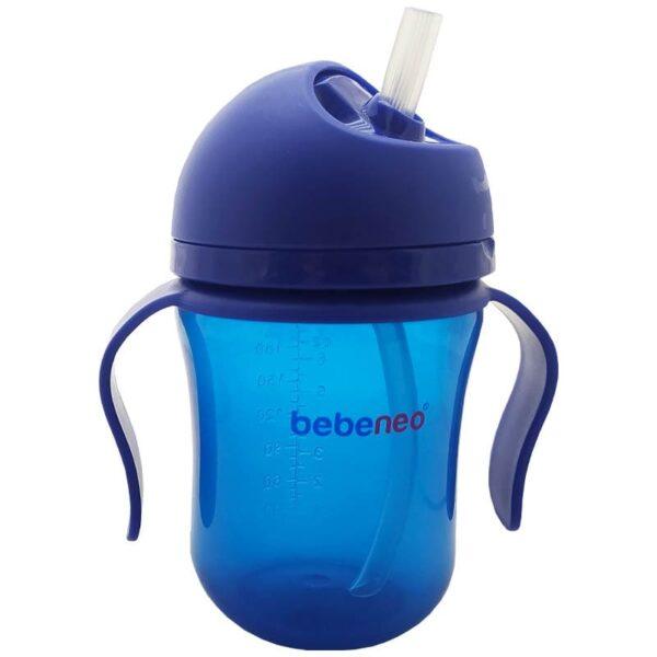 لیوان آبمیوه خوری دسته دار 220 میل Bebeneo
