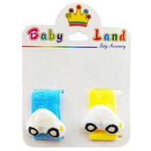 مچ بند جغجغه ای کودک ماشین Baby Land