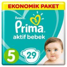 پوشک 29 عددی نرمال سایز 5 پریما Prima