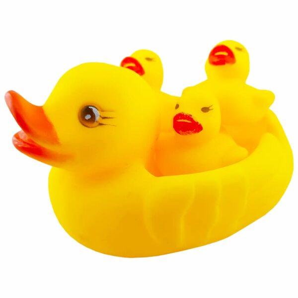 تاتی اردک چهارتایی سوت دار سایز بزرگ
