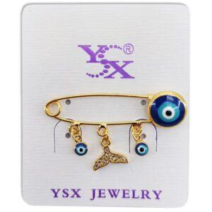 گیره سوزنی سنجاق سینه چشم نظر YSX