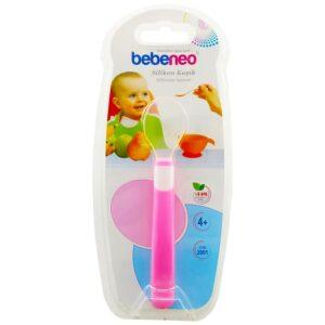قاشق سر سیلیکونی تکی  Bebeneo