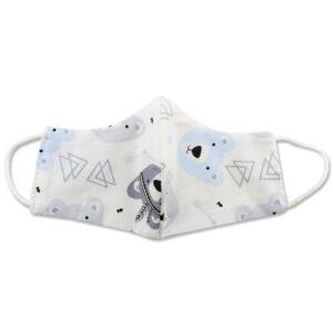 ماسک تنفسی کودک طرح خرس و مثلث Abdy