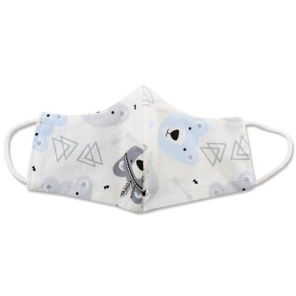ماسک تنفسی کودک طرح خرس و مثلث
